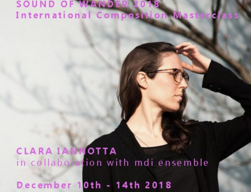 International masterclass on composition: Clara Iannotta