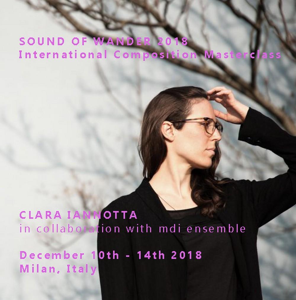 Masterclass internazionale di composizione: Clara Iannotta